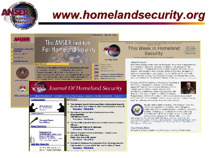 www. homelandsecurity. org