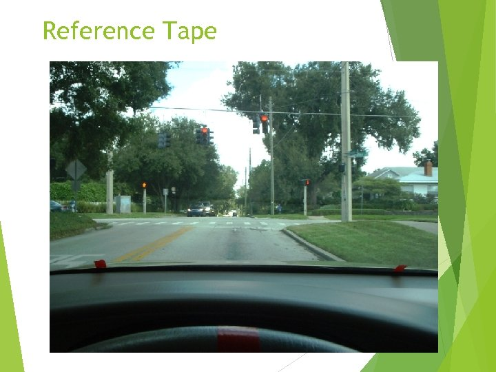 Reference Tape
