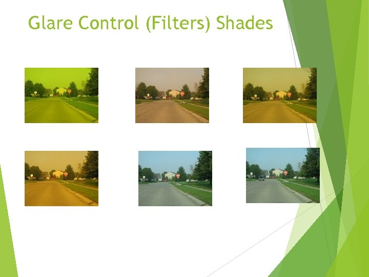 Glare Control (Filters) Shades