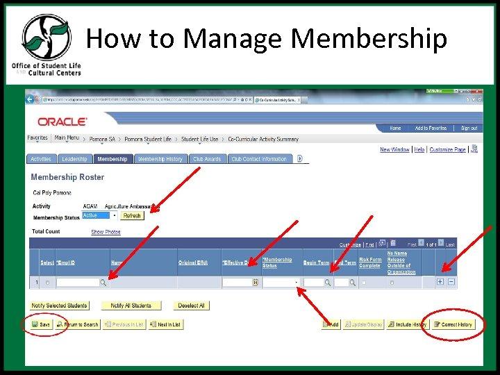 How to Manage Membership