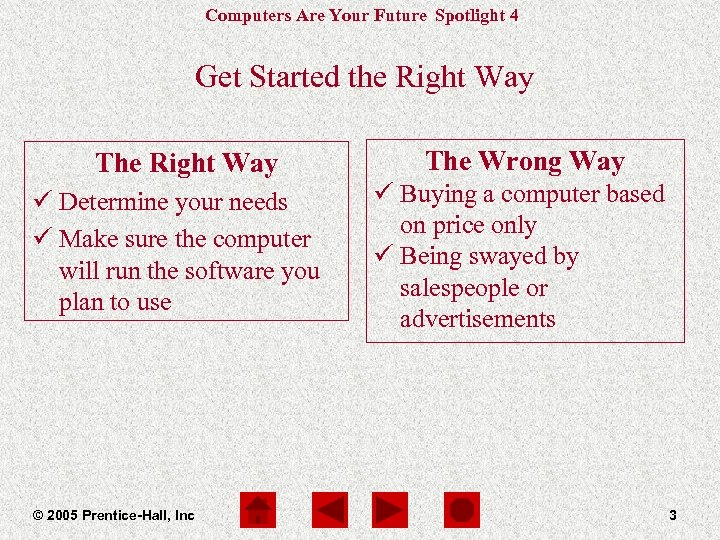 Computers Are Your Future Spotlight 4 Get Started the Right Way The Right Way