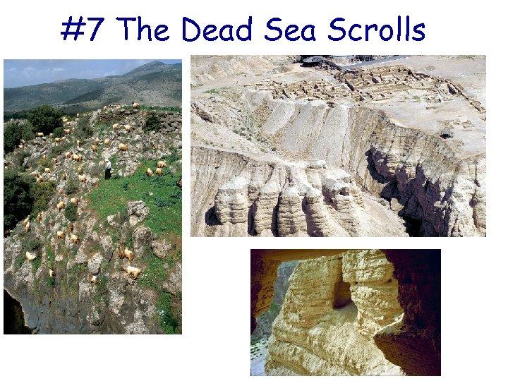 #7 The Dead Sea Scrolls
