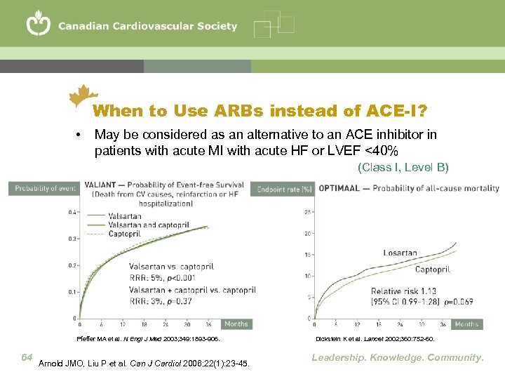 When to Use ARBs instead of ACE-I? • May be considered as an alternative