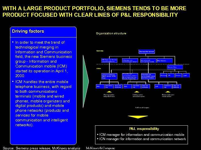 SAMSUNG 010605 BJ-kickoff 2 WITH A LARGE PRODUCT PORTFOLIO, SIEMENS TENDS TO BE MORE