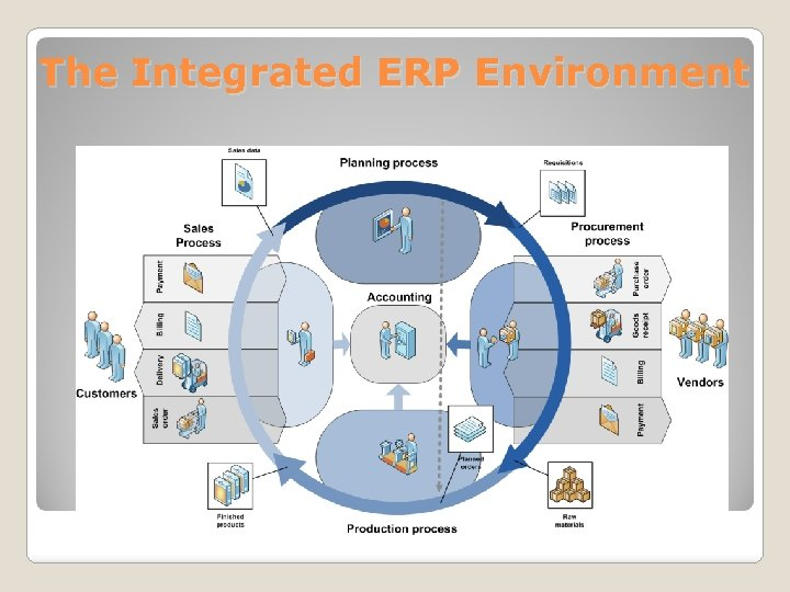 The Integrated ERP Environment