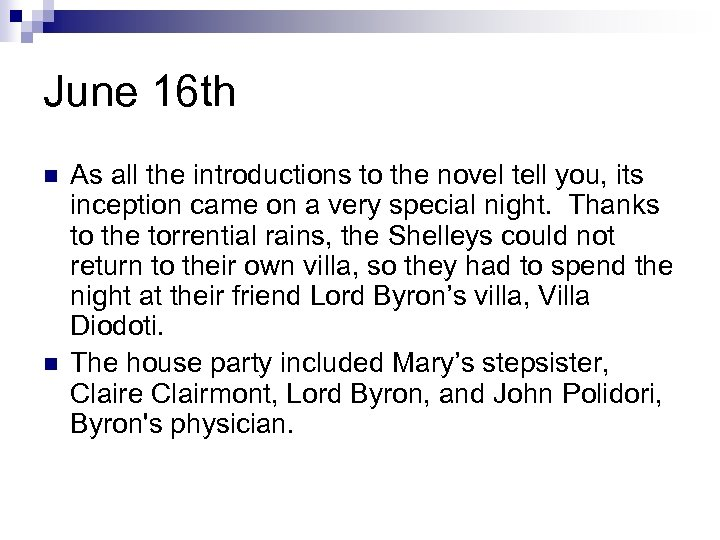 June 16 th n n As all the introductions to the novel tell you,