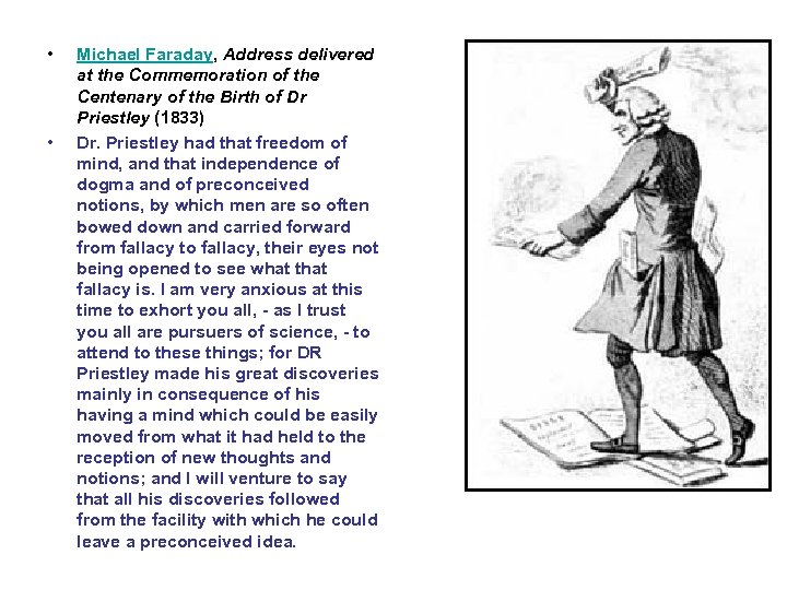 • • Michael Faraday, Address delivered at the Commemoration of the Centenary of