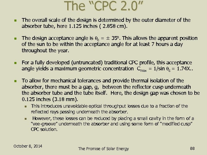 "The ""CPC 2. 0"" n n The overall scale of the design is determined"