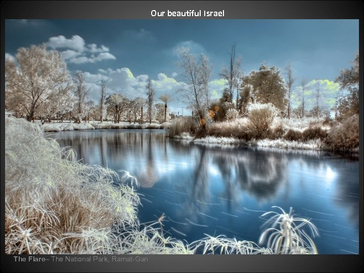 Our beautiful Israel The Flare– The National Park, Ramat-Gan