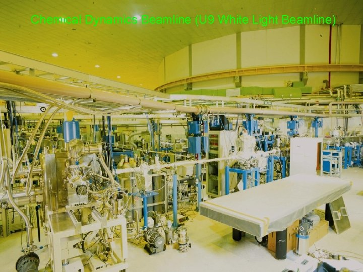 Chemical Dynamics Beamline (U 9 White Light Beamline)