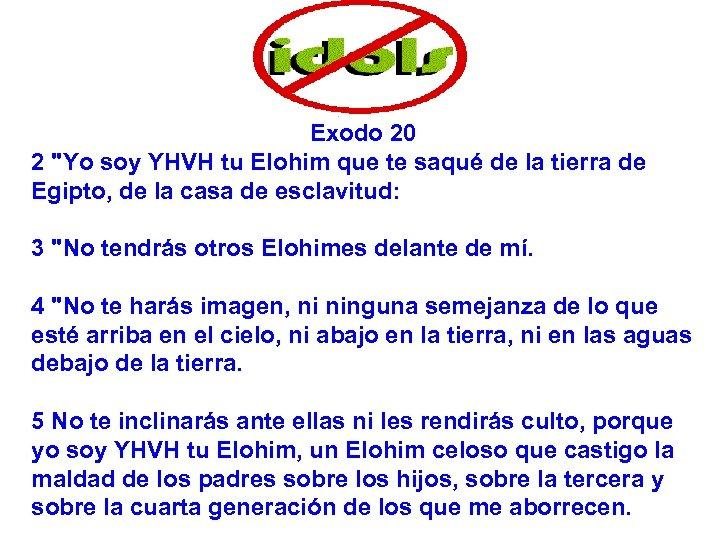 Exodo 20 2