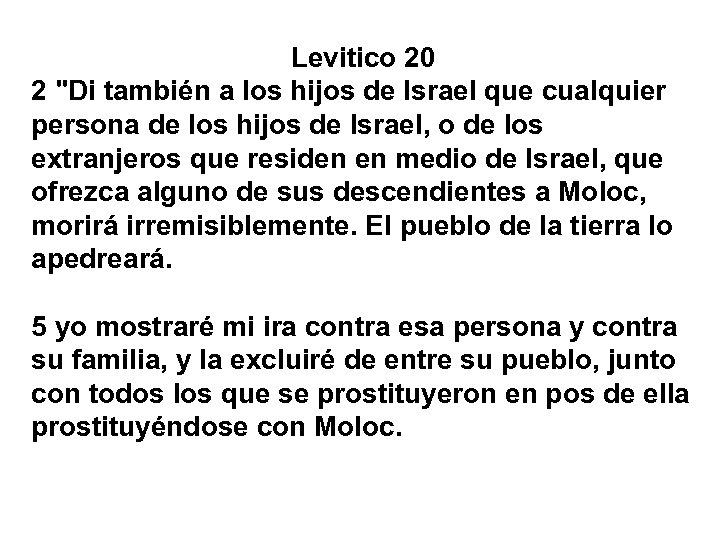Levitico 20 2