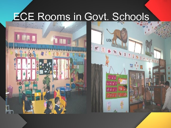 ECE Rooms in Govt. Schools