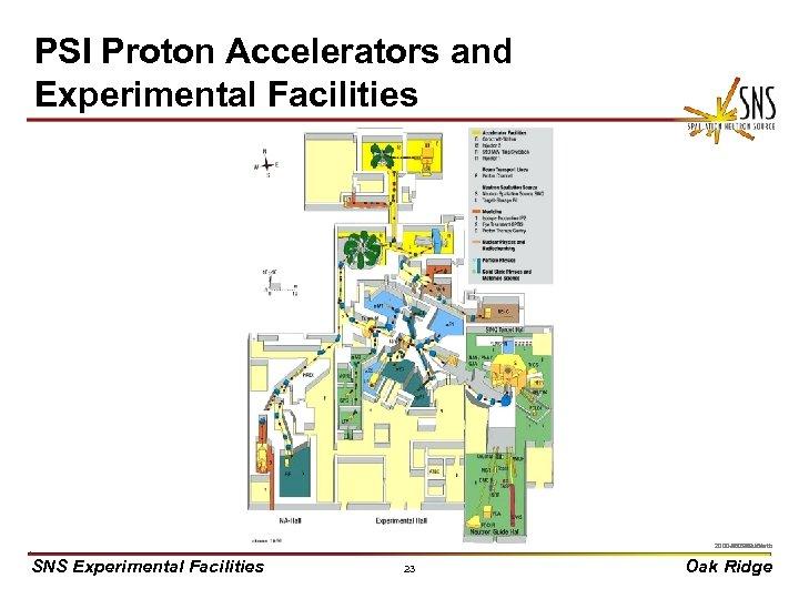 PSI Proton Accelerators and Experimental Facilities X 0000910/arb 2000 -05270 uc/arb SNS Experimental Facilities