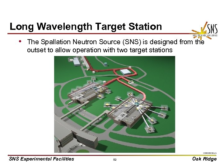 Long Wavelength Target Station • The Spallation Neutron Source (SNS) is designed from the