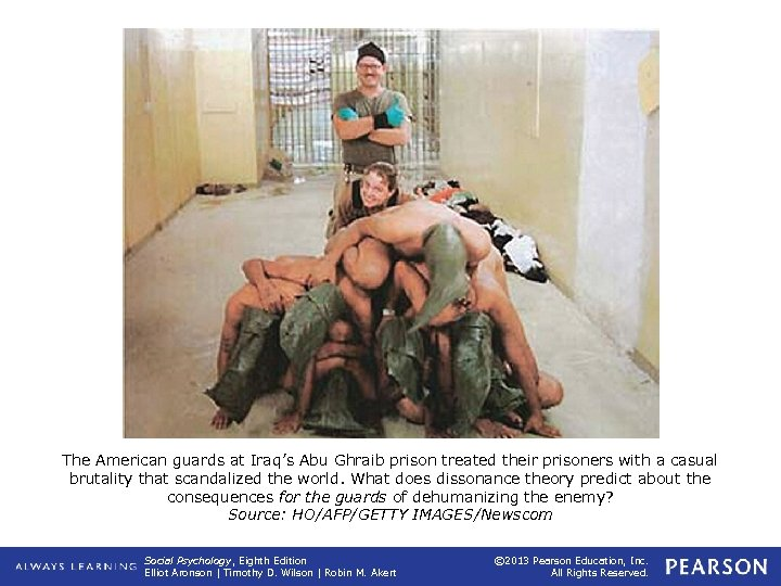 The American guards at Iraq's Abu Ghraib prison treated their prisoners with a casual