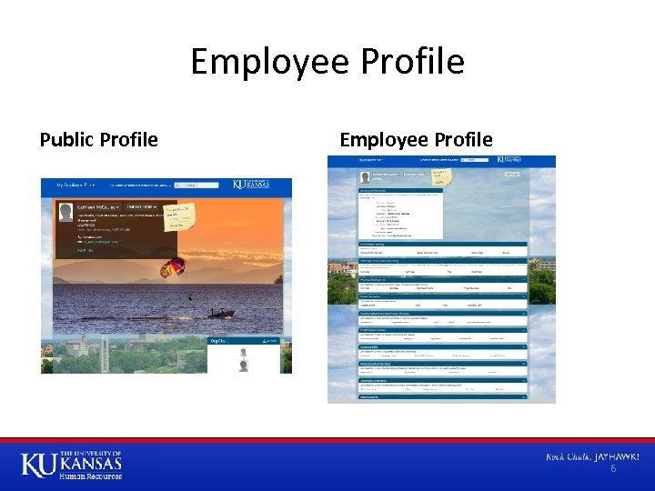 Employee Profile Public Profile Employee Profile 6
