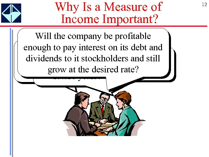 Why Is a Measure of Income Important? Will the company be profitable enough to