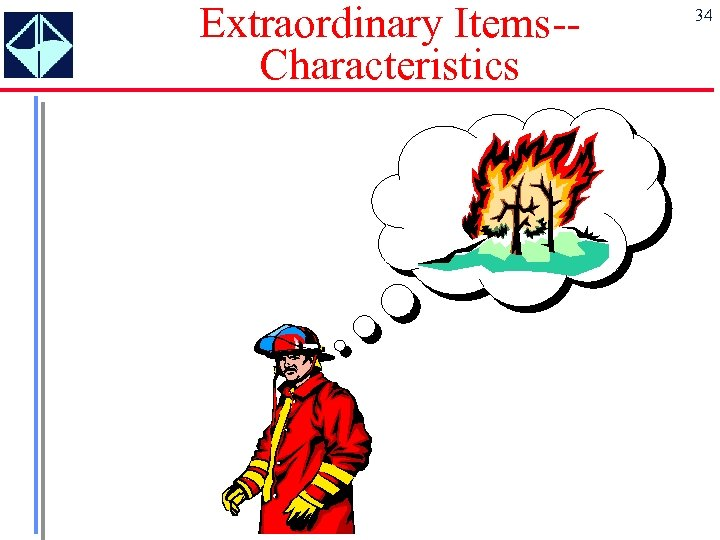 Extraordinary Items-Characteristics 34