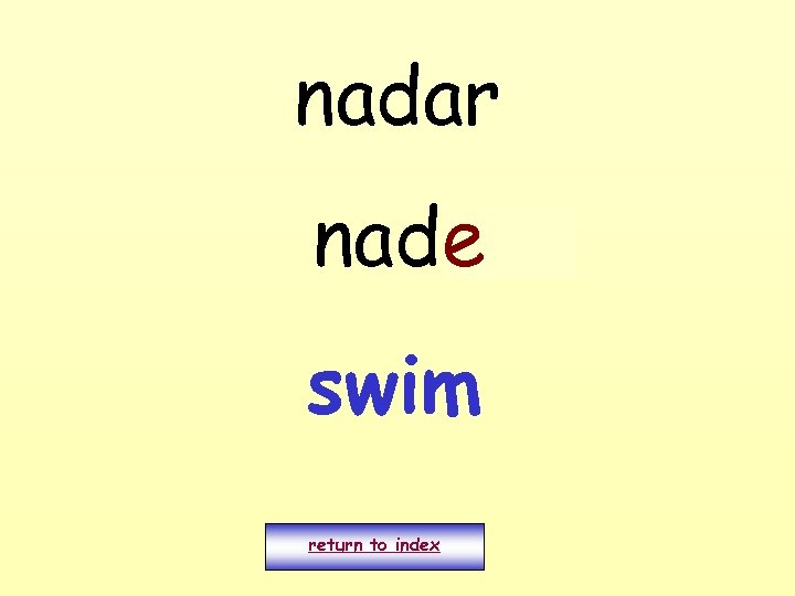 nadar nado e swim return to index