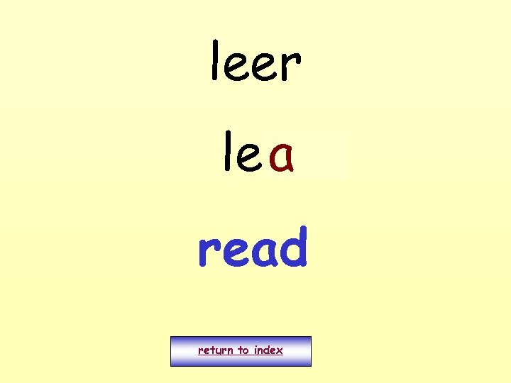 leer leo a read return to index
