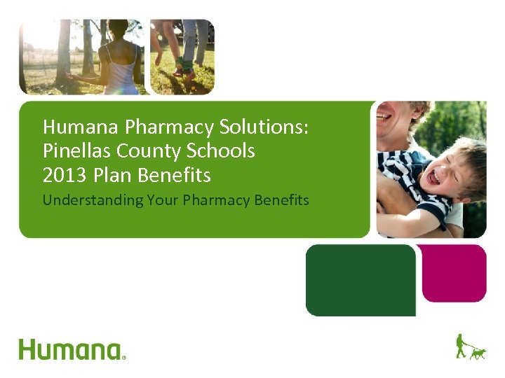 Humana Pharmacy Solutions: Pinellas County Schools 2013 Plan Benefits Understanding Your Pharmacy Benefits