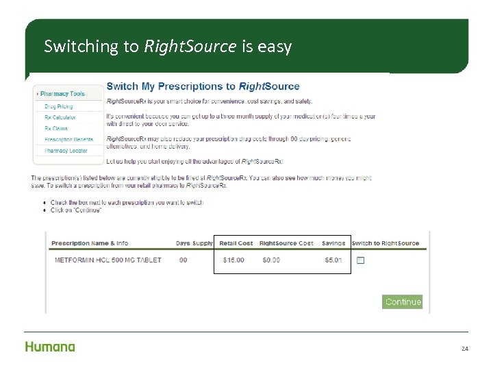 Switching to Right. Source is easy 24
