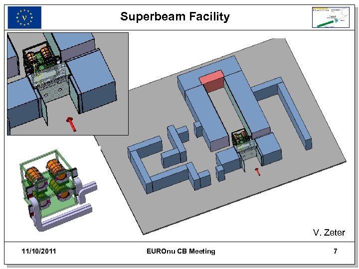 Superbeam Facility V. Zeter 11/10/2011 EUROnu CB Meeting 7