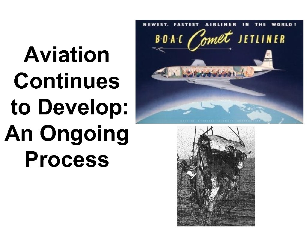 Aviation Continues to Develop: An Ongoing Process