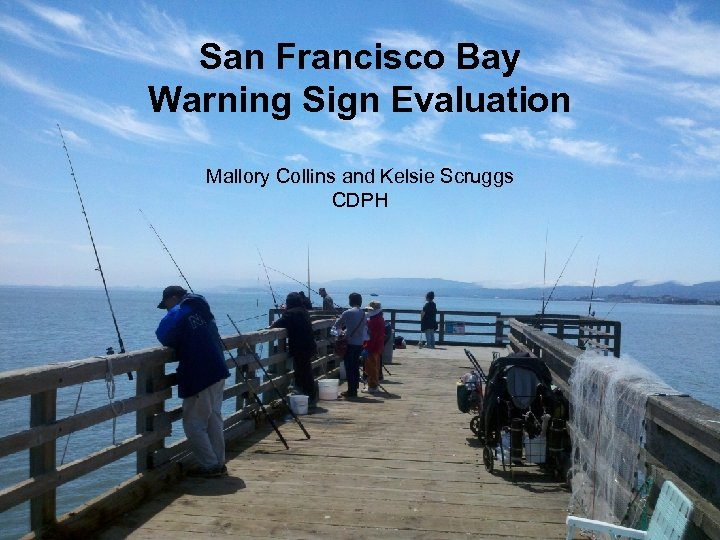 San Francisco Bay Warning Sign Evaluation Mallory Collins and Kelsie Scruggs CDPH