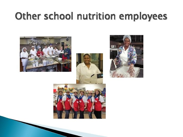 Other school nutrition employees
