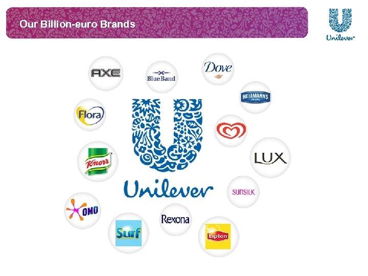 Our Billion-euro Brands