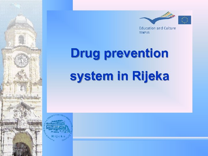 Drug prevention system in Rijeka