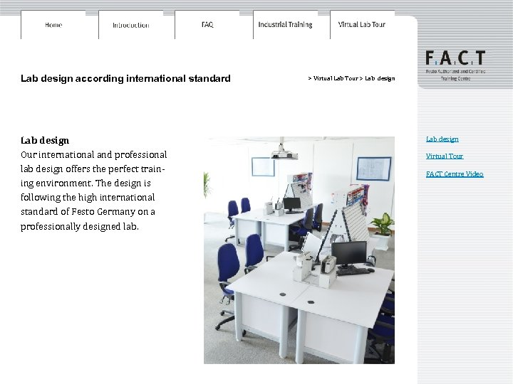 Lab design according international standard Lab design Our international and professional lab design offers