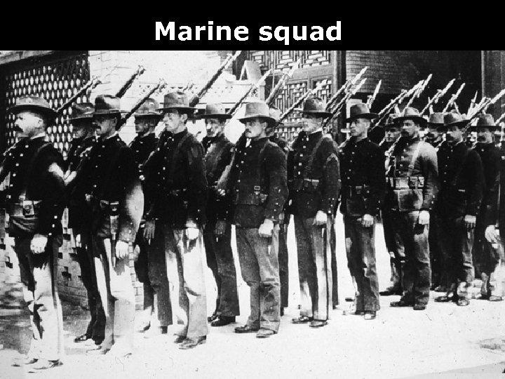 Marine squad
