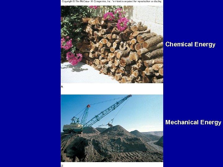 Chemical Energy Fig. 3. 11 Mechanical Energy