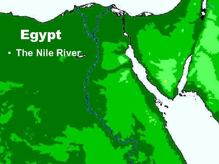 Egypt • The Nile River
