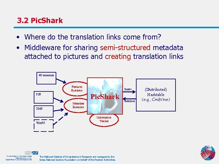 3. 2 Pic. Shark • Where do the translation links come from? • Middleware
