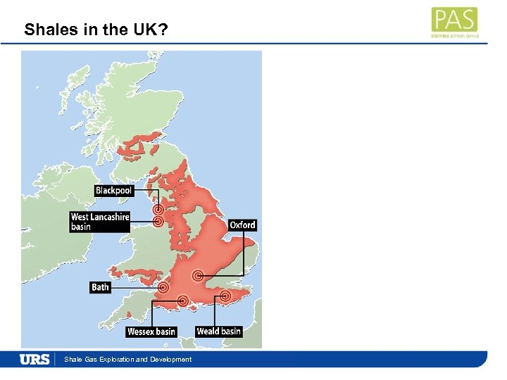 Shales in the UK? Presentation. Exploration and Development Shale Gas Title