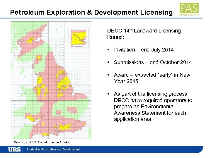 Petroleum Exploration & Development Licensing DECC 14 th Landward Licensing Round: • Invitation –