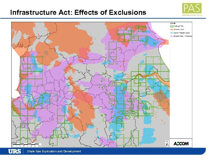 Infrastructure Act: Effects of Exclusions Presentation. Exploration and Development Shale Gas Title