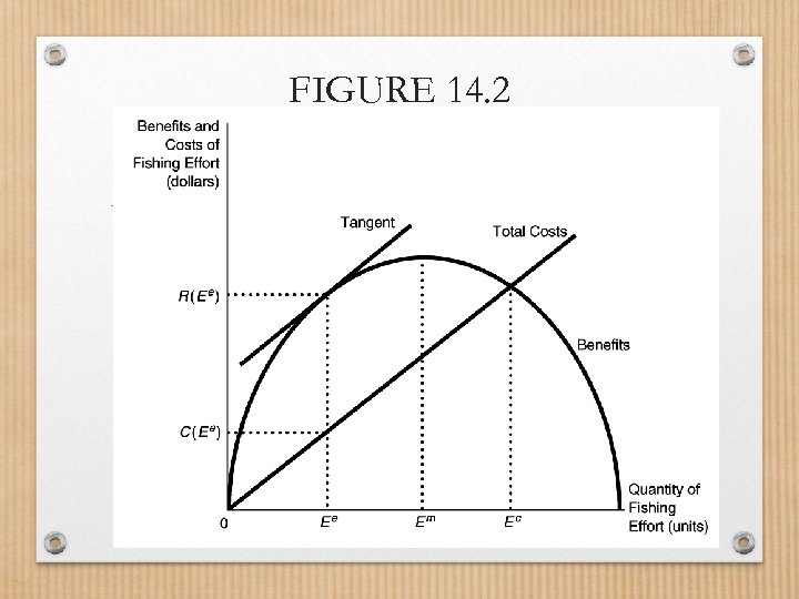 FIGURE 14. 2 Efficient Sustainable Yield for a Fishery