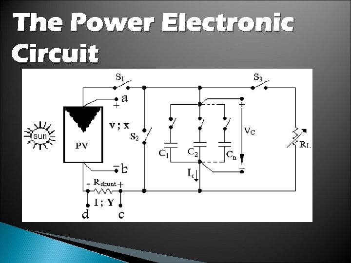 The Power Electronic Circuit