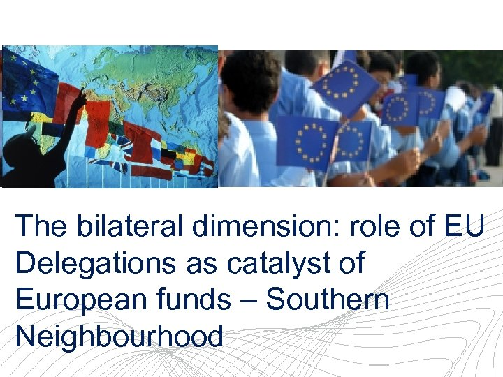 EU Delegation to Egypt The bilateral dimension: role of EU Delegations as catalyst of
