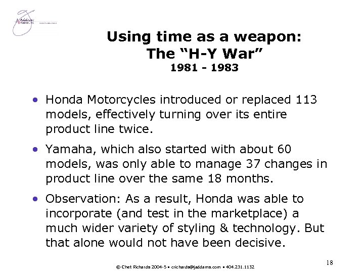 "Using time as a weapon: The ""H-Y War"" 1981 - 1983 • Honda Motorcycles"