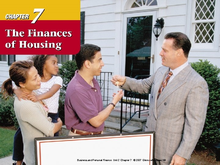 Business and Personal Finance Unit 2 Chapter 7 © 2007 Glencoe/Mc. Graw-Hill 0