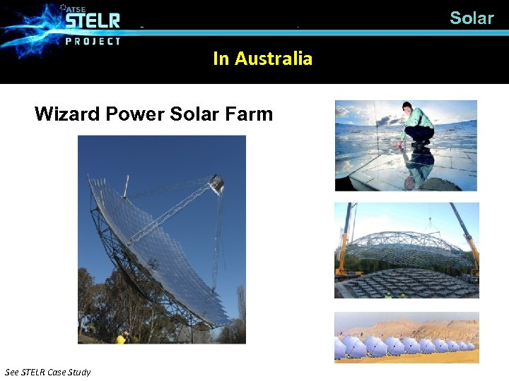Solar In Australia Wizard Power Solar Farm See STELR Case Study