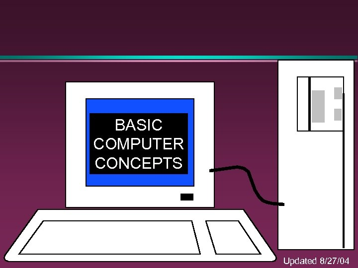BASIC COMPUTER CONCEPTS Updated 8/27/04
