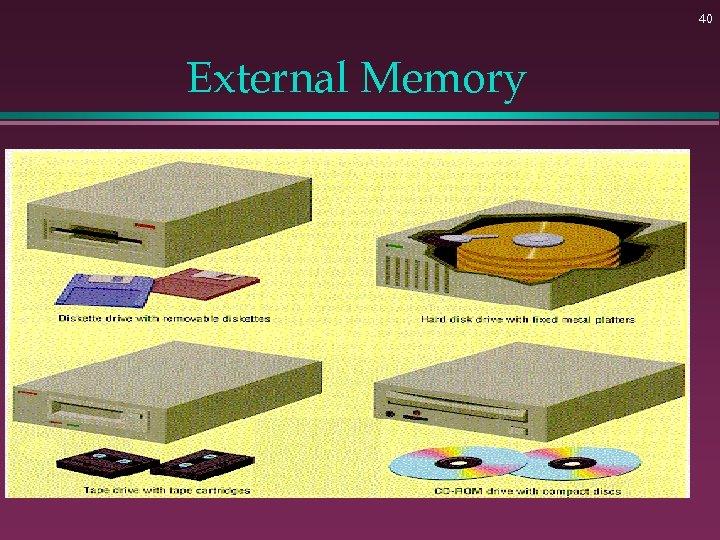 40 External Memory