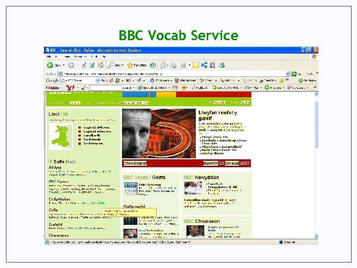 BBC Vocab Service